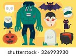 vector cartoon illustration... | Shutterstock .eps vector #326993930