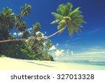 Summer Beach Tropical Paradise...