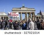 berlin  germany   october 10 ... | Shutterstock . vector #327021014