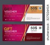 gift voucher premier color | Shutterstock .eps vector #327026414