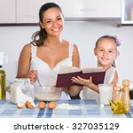 adult american housewife... | Shutterstock . vector #327035129