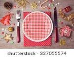 Christmas Dinner Plate Setting...