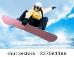 snowboarding. | Shutterstock . vector #327061166