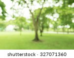 walkway for exercise lined up... | Shutterstock . vector #327071360