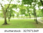 walkway for exercise lined up... | Shutterstock . vector #327071369