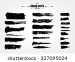 vector large set hand drawn... | Shutterstock .eps vector #327095024