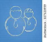 user icon.  | Shutterstock .eps vector #327123959