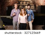 multigenerational winery owner... | Shutterstock . vector #327125669