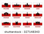 vector symbols of poland....   Shutterstock .eps vector #327148343