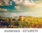 kamianets podilskyi cityscape... | Shutterstock . vector #327169274