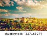 kamianets podilskyi cityscape... | Shutterstock . vector #327169274