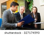 business people at work | Shutterstock . vector #327174593