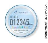 smart meter illustration   Shutterstock .eps vector #327190064