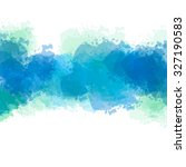 abstract watercolor painting. | Shutterstock . vector #327190583