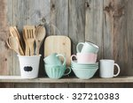 Kitchen Cooking Utensils In...
