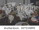 diverse equality gender... | Shutterstock . vector #327210890