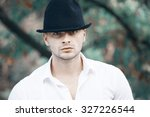 the guy with the hat | Shutterstock . vector #327226544