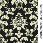 floral pattern. wallpaper... | Shutterstock .eps vector #327233828