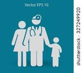 family practice vector... | Shutterstock .eps vector #327249920