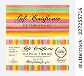 Gift Certificate  Voucher ...
