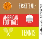 sports training design  vector... | Shutterstock .eps vector #327257270