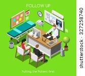 Постер, плакат: Clinic Follow Up Patien
