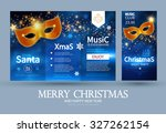 christmas party flyer template. ...