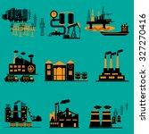industrial energy  electricity... | Shutterstock .eps vector #327270416