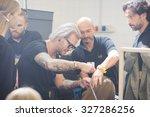 milan  italy   september 28 ... | Shutterstock . vector #327286256