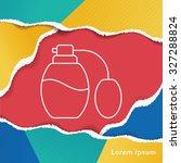 perfume line icon | Shutterstock .eps vector #327288824