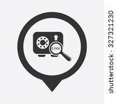 safe icon.  | Shutterstock .eps vector #327321230