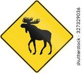Canadian Road Warning Sign  ...