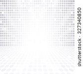 gray white dot empty... | Shutterstock . vector #327340850