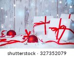 christmas decoration  holiday... | Shutterstock . vector #327352079