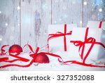 christmas decoration  holiday... | Shutterstock . vector #327352088