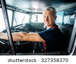 portrait of confident mature... | Shutterstock . vector #327358370
