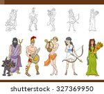 cartoon illustration of... | Shutterstock . vector #327369950