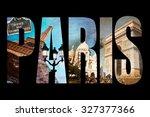 Photo Collage Letters Paris ...
