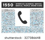 phone icon and other web...   Shutterstock .eps vector #327386648