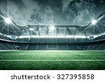 stadium | Shutterstock . vector #327395858
