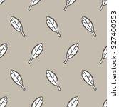 vector seamless pattern design... | Shutterstock .eps vector #327400553