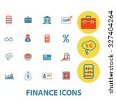 finance icons | Shutterstock .eps vector #327404264