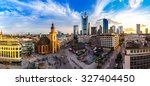 summer panorama of the... | Shutterstock . vector #327404450