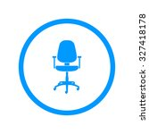 office ichair icon  vector eps... | Shutterstock .eps vector #327418178