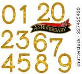 anniversary | Shutterstock . vector #327425420