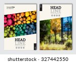 business brochure design... | Shutterstock .eps vector #327442550
