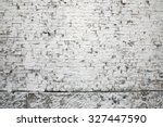 white brick wall background | Shutterstock . vector #327447590