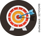 target .flat icon