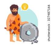 Stone Age Primitive Man Had An...