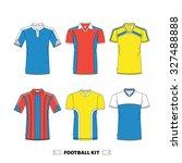 football kit made in vector ...   Shutterstock .eps vector #327488888